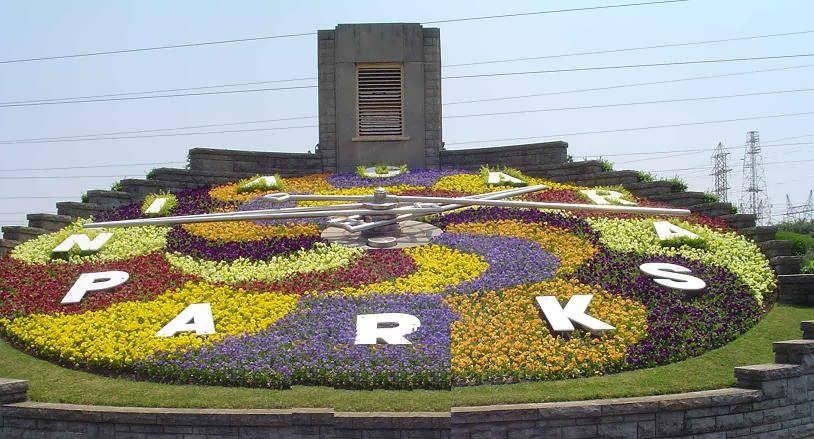 صور لحديقة الزهور